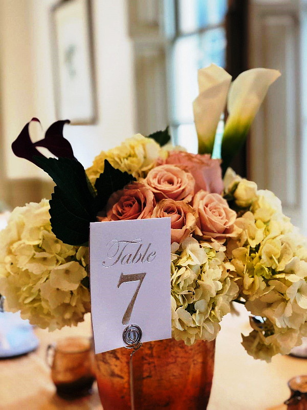 Wedding Bliss Events Centerpiece