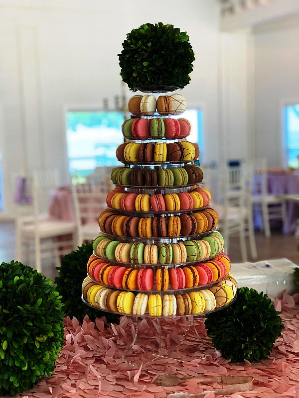 Baby Shower Brunch Cookie Tower