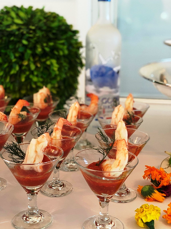 Baby Shower Shrimp Cocktail