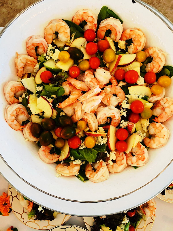 Baby Shower Brunch Shrimp Salad