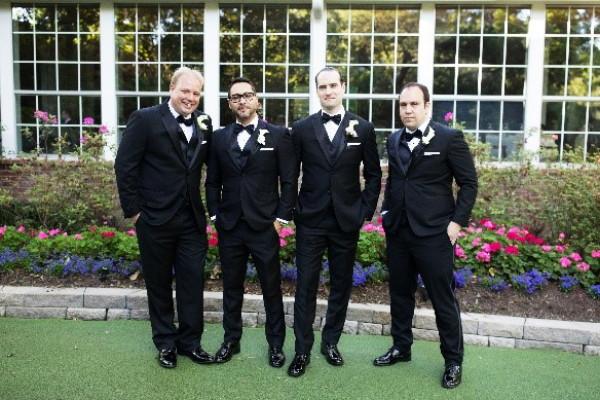 Wedding Bliss Events Planning - Groom and Groomsmen tuxedos preceremony